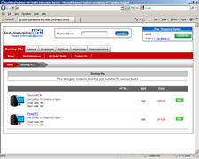 South Staffordshire Health Informatics Service eShop 1