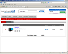South Staffordshire Health Informatics Service eShop 3