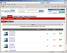 South Staffordshire Health Informatics Service eShop 4