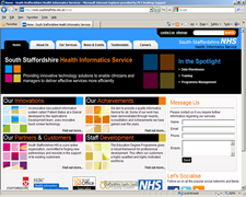 South Staffordshire Health Informatics Service 1